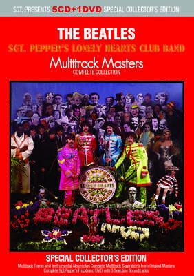The Beatles SGT Pepper's Lonely Hearts Club Band Multitrack Masters 5CD 1DVD