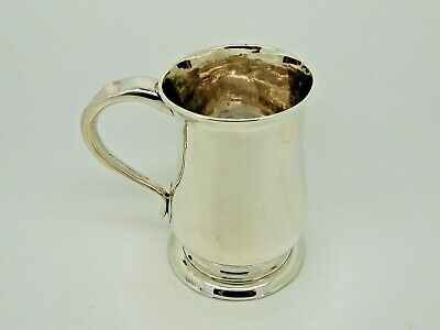 Antique Silver Pint Mug / Tankard Newcastle 1757 – John Langlands I RARE