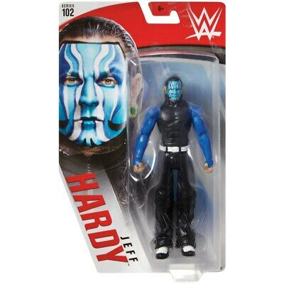 Wwe Jeff Hardy Mattel Basic Series 102 Wrestling Action Figure New Core Aew
