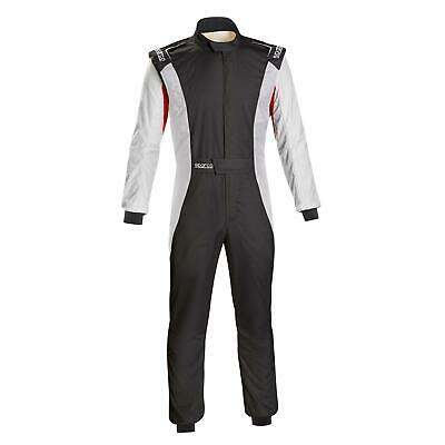 Sparco 001128SFB60RSBN Competition Racing Suit, Red, Size 60