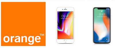 Premium Factory Unlock Service Orange Moldova iPhone 7 7+ 8 8+ X ,XS, max, XR