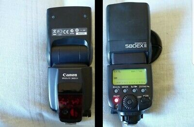 Flash Canon Speedlite 580EX II + Case
