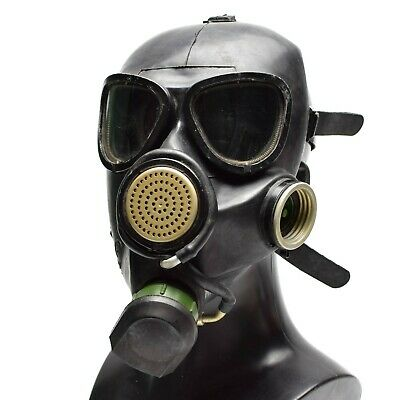 Soviet Russian gas mask GP7VM PMK black respiratory Only mask