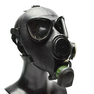 Soviet Russian gas mask GP7VM PMK black respiratory Only mask.