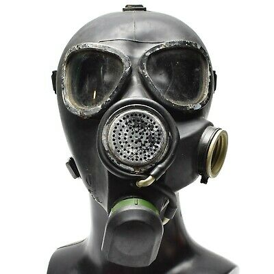 Soviet Russian gas mask GP7VM PMK black respiratory Mask Only