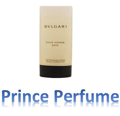 BULGARI POUR HOMME SOIR SHAMPOO AND SHOWER GEL - 200 ml
