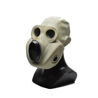 Soviet Russian gas mask PBF. Only Mask EO-19 rubber respiratory surplus 1970's