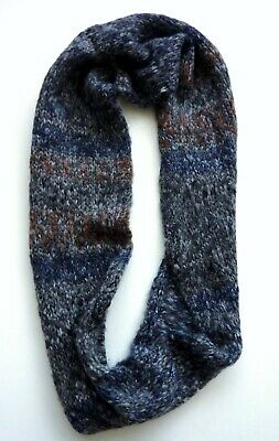 ZARA Kids Boys Scarf Infinity Neck Knit Knitted Tube Winter Fluffy Boy Kids
