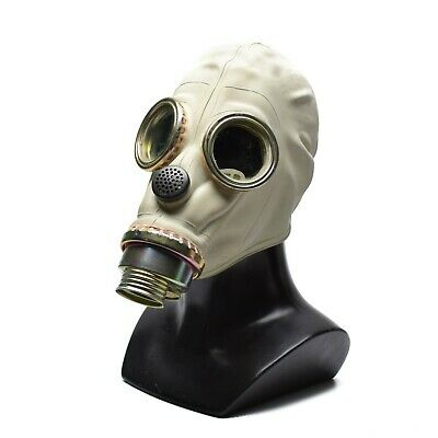 Polish Poland gas mask MP3 MUA Only Mask  SzM-41M KF respiratory surplus 1970's