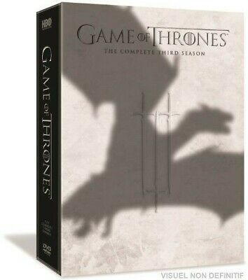 Game of Thrones: Season 3 (DVD, 2014, 5-Disc Set)