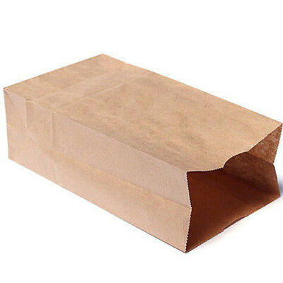 Luxury Party Brown Bags-Kraft Paper Gift Bag Handles Recyclable Loot 10/20x OQ
