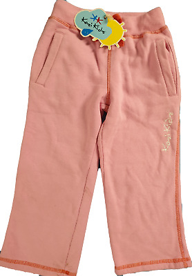 Kozi Kids Childrens Trousers Jogging Bottoms Pink