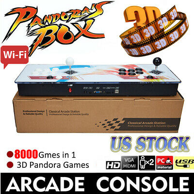 Smart WIFI Edition Pandora Box 9S 2448 3D & 2D Games in 1 Home Arcade Console