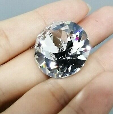 25mm Swarovski® Crystal Clear (001) 1088 Xirius Chaton Round Stone Paper Weight