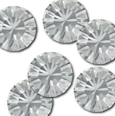 SS50 - 12mm Swarovski® Crystal Clear 1088 Xirius Chaton Round Stone 100 PIECES