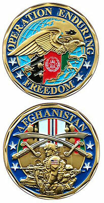 Operation Enduring Freedom Afghanistan - OEF Challenge Coin 2474