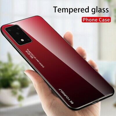 Gradient Tempered Glass Case Cover For Samsung S11 Lite Note 10 Plus S10 A90 5G