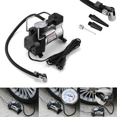 150PSI Car Auto Tire Inflator Tyre Pump with Gauge Air Compressor 12V Heavy Duty