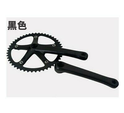 Andel Single Speed//track Crankset Non Fluted 144 BCD 165mm