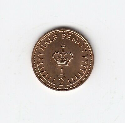 1983 HALF PENNY 1/2p BRILLIANT UNCIRCULATED Very Nice BUNC 1/2p Coin    (3331)