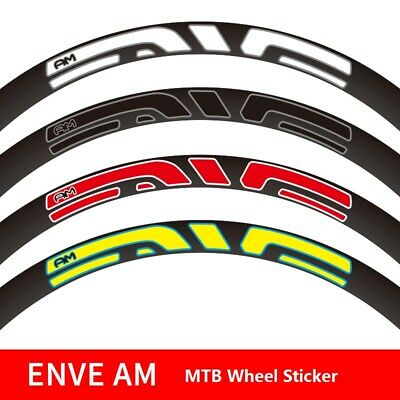 Two Wheel Rim Sticker for M90 M930 M-930 MTB Mountain Bike Bicycle Cycling Decal