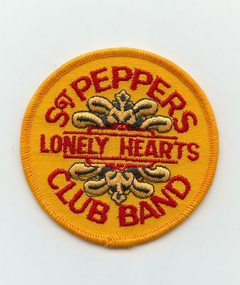 "Vintage Beatles ""Sgt. Peppers Lonely Hearts Club Band"" 3"" Original Patch MINT"