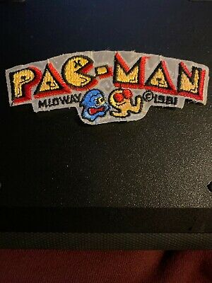 Lot of 10 PAC MAN ghost Iron on patches Wholesale embroidered patch video gamer