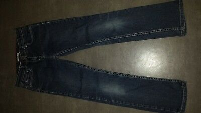Jeans Pants Navy Blue Jacadi 10 Years Girl Very Good Condition