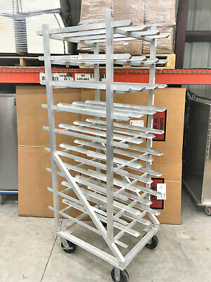 New Age Industrial, 1250CK, Full Size Can Rack with Casters