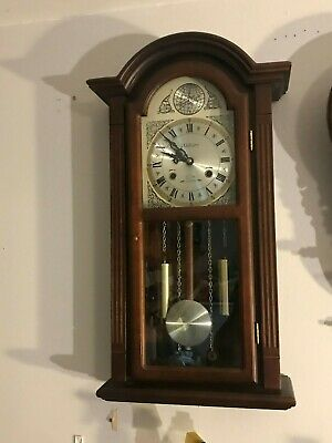Waltham 31 Day Gong Chime Wall Clock  CTx #238