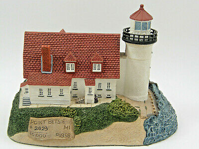 1998 Harbour Lights Point Betsie Michigan Lighthouse 218 LE 2423/10000 VG COND