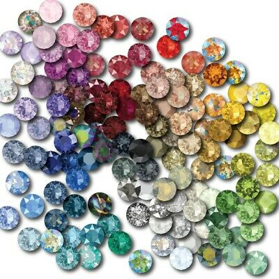 SS34 - 7.25mm Swarovski® Crystal Clear 1088 Xirius Chaton Round Stone 100 PIECES