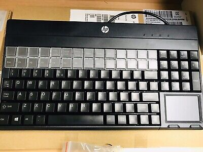 HP POS Programmable Keyboard SPOS G86-62401EUAISA /01 BRAND NEW in Original BOX