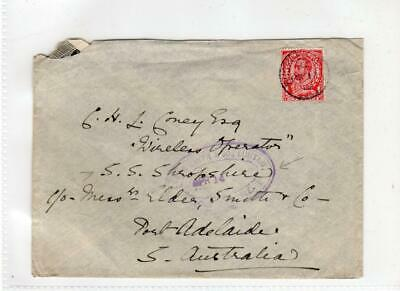 GB - GLOUCESTERSHIRE: 1913 cover to South Australia (C47035)