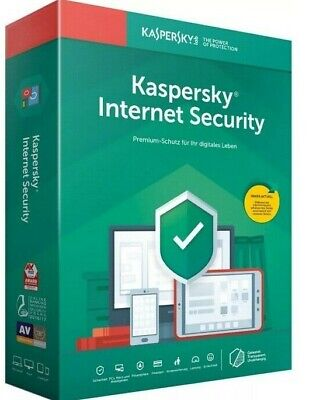 Kaspersky internet security 2020 5 Device 1 Year Global • BRAND NEW •