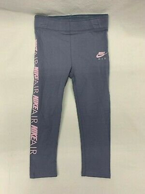 Nike Toddlers Girls Leggings Gray Pink Casual Active Play Wear Size 3T NEW