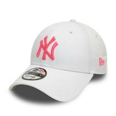 New York NY Yankees Essential Neon Pink Logo 9FORTY New Era Cap | New w/Tags