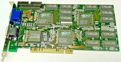 Multimedia Diamond Monster 3D II PCI 8MB 22150105-005 3Dfx Voodoo 2 Card Graphic