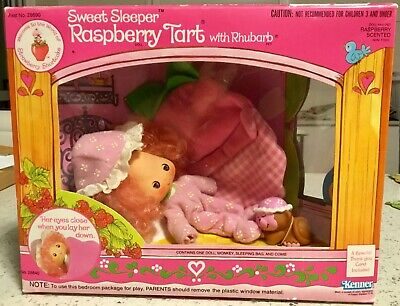 Vintage Strawberry Shortcake Raspberry Tart Sweet Sleeper Doll Boxed