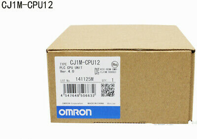Omron CJ1M-CPU12 CPU unit I/O points 320, program capacity 10K New