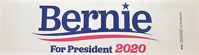 "Bernie Sanders for President 2020 Bumper Sticker - 3"" x 11"""