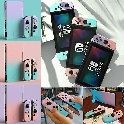 For Nintendo Switch Joy-Con Controller Housing Shell Console Back Case Cover CBY