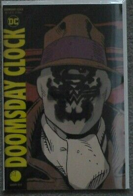 Doomsday Clock #1 Lenticular Variant..geoff Johns..dc 2018 1St Print.nm.watchmen