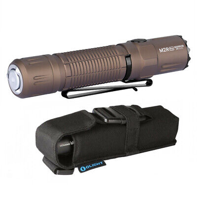 LED Flashlight Olight M2R PRO Warrior 1800 Lumen Holster Desert Tan LIMITED