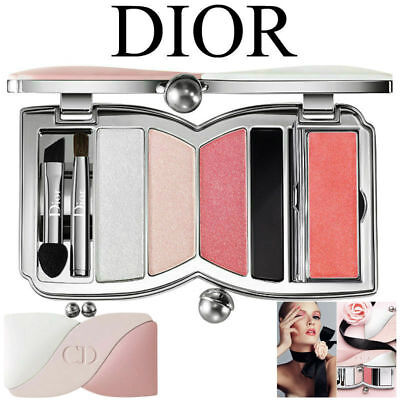 Full Dior Gift Wrap CHERIE BOW 002 Rose Perle Makeup Palette New Sealed Box