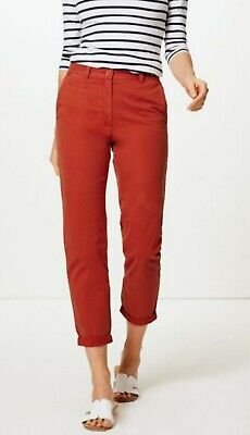 RRP £19.50 M/&S COLLECTION Pure Cotton Tapered Chinos B44