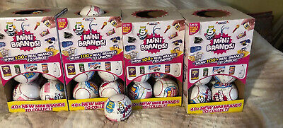Lot Of 3 Balls Brand NEW Sealed Authentic 5 Surprise Zuru Mini Brands Sold Out