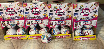 Lot Of 5 Surprise Mini Brands - 4 Balls - MADE BY ZURU! 100% AUTHENTIC SOLD OUT