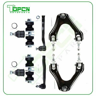 10 ECCPP NEW Front Upper Control Arm Ball Joint Sway Bar Tie Rods Kit Accord CL TL Qty