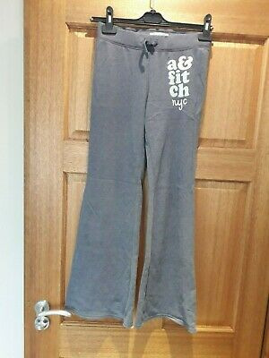 Girls Abercrombie And Fitch Tracksuit Jogging Bottoms New Age 11-12